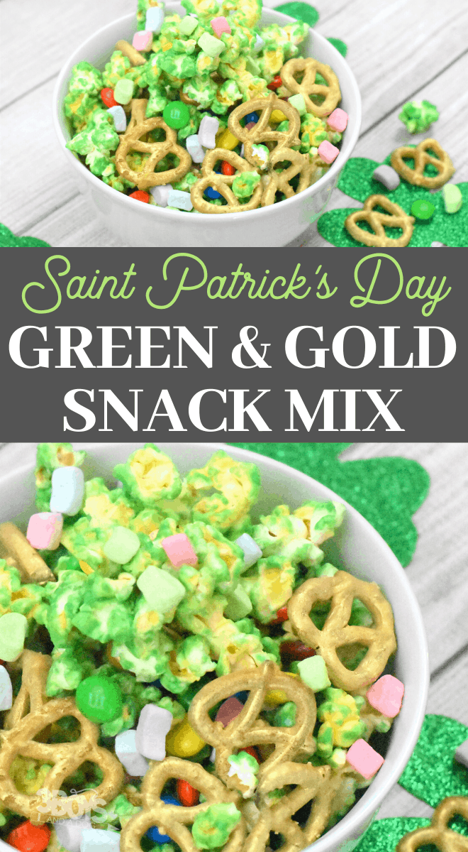 st. paddys day snack mix recipe
