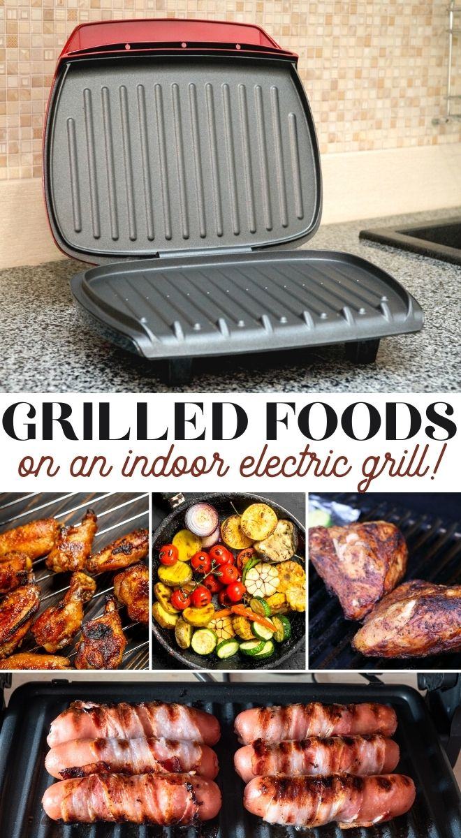 george foreman grill recipes