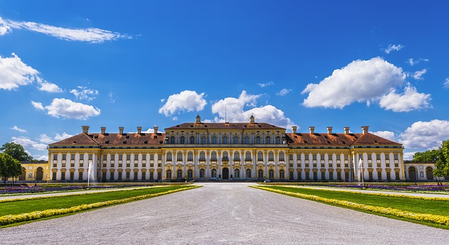 Schleissheim Palace complex in Munich