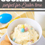 delicious cookie dip for Easter time