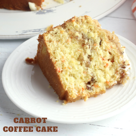 make this carrot bundt cake dessert recipe for your next brunch