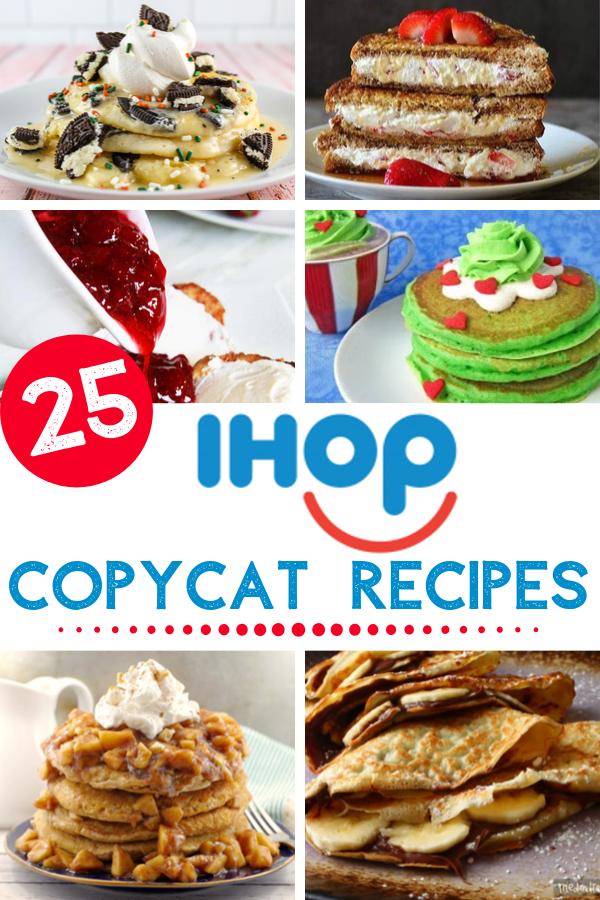 copycat IHOP recipes