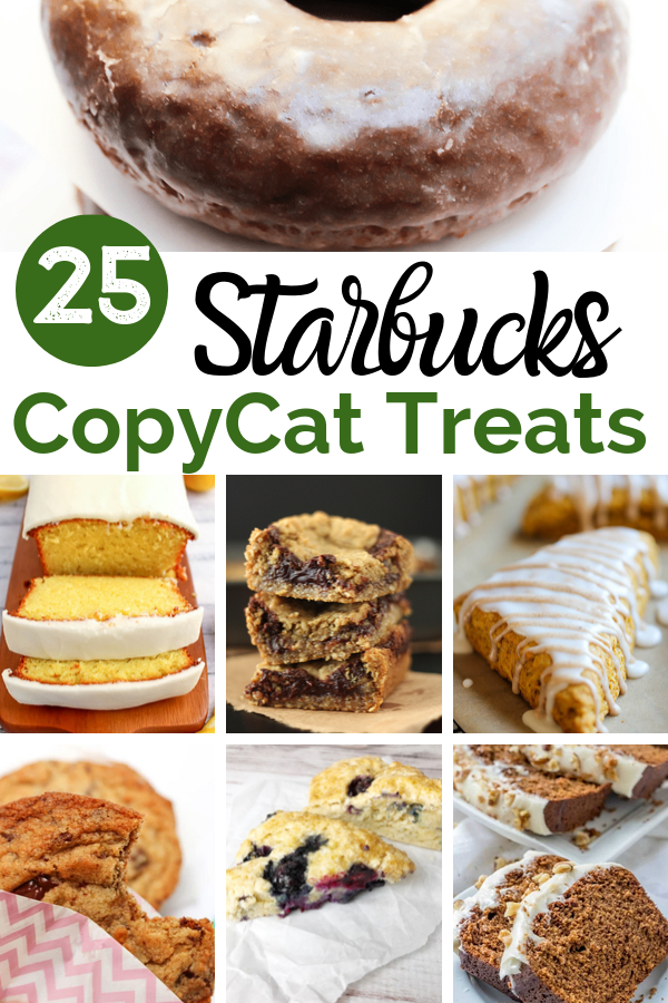 copycat Starbucks sweet treats recipes