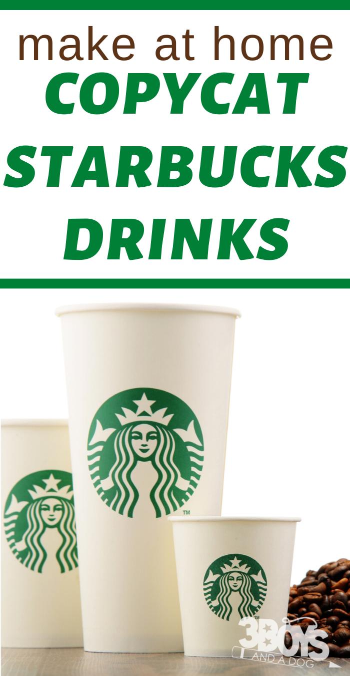 25 Starbucks Copycat Drinks
