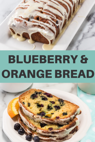 fresh blueberries and oranges make a delicious and gorgeous bread recipe that is perfect for breakfast