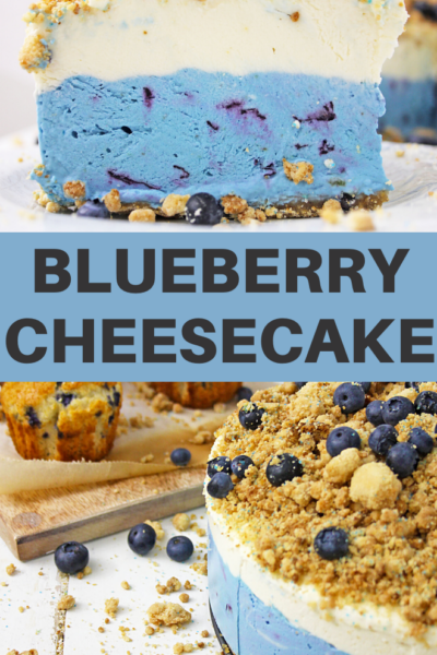 blueberry muffin cheesecake dessert recipe
