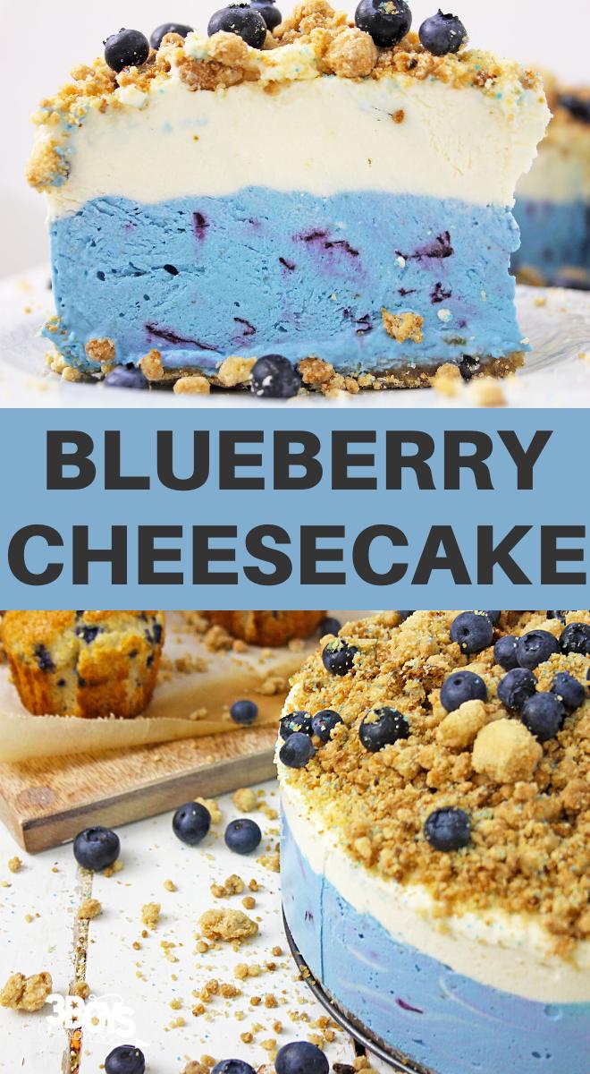 blueberry muffin cheesecake dessert recipe