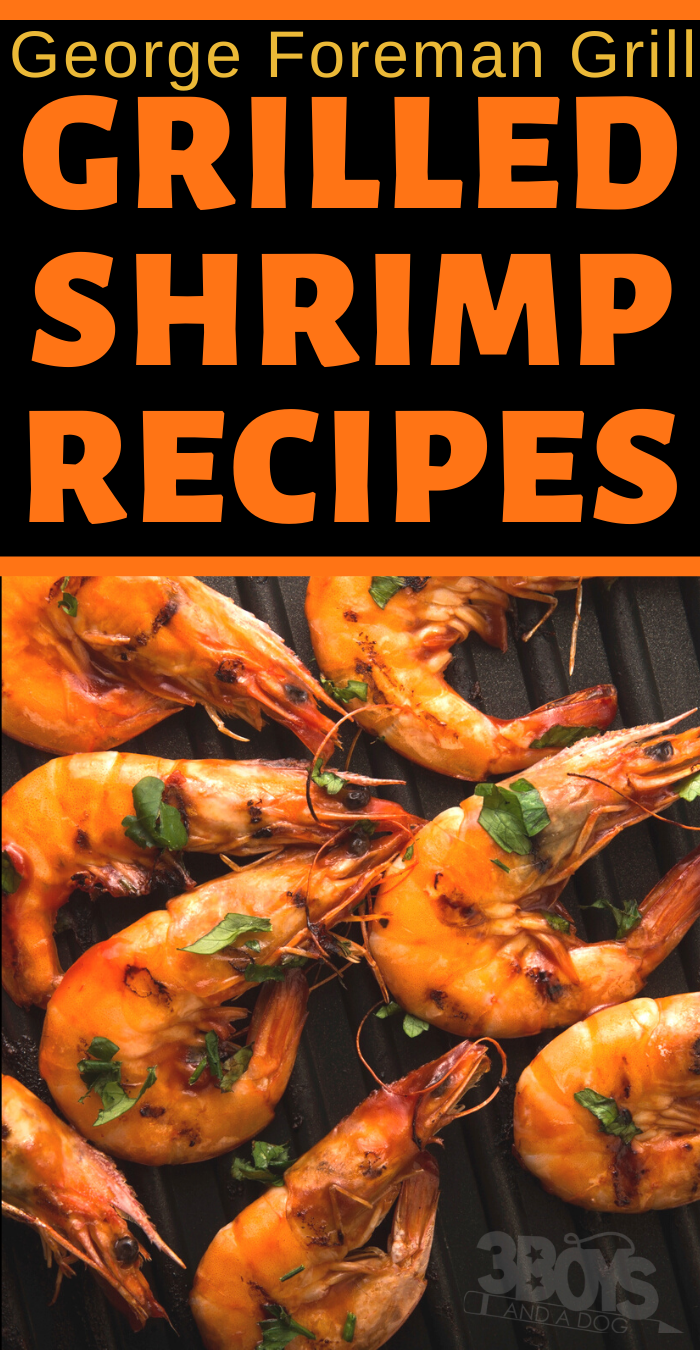 the best ever shrimps and prawns recipes on a george foreman grill