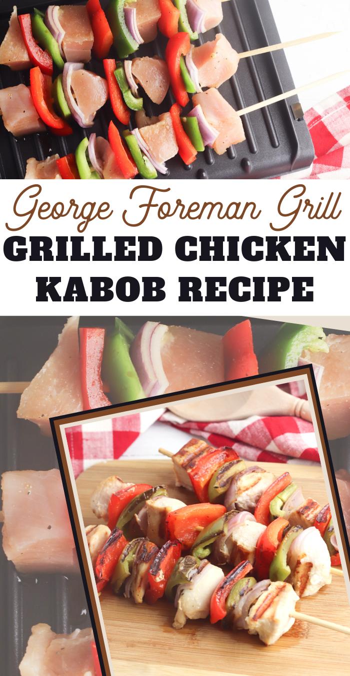grilled chicken kebabs recipe