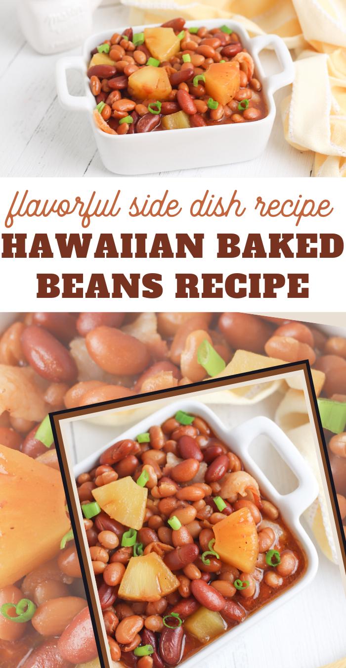 easy hawaiian baked beans recipe