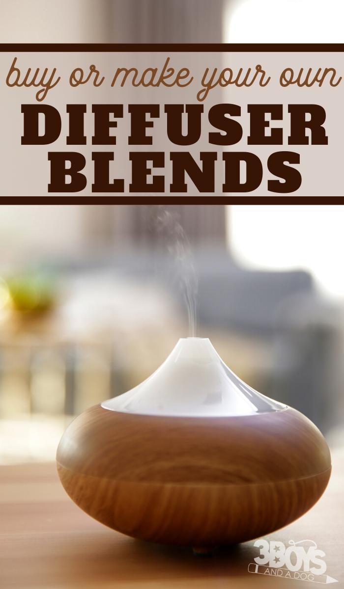 relaxing diffuser blends