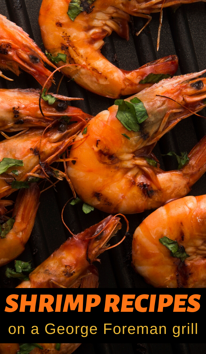 quick and easy george foreman shrimp recipes