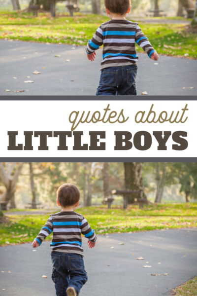 quotes about little boys