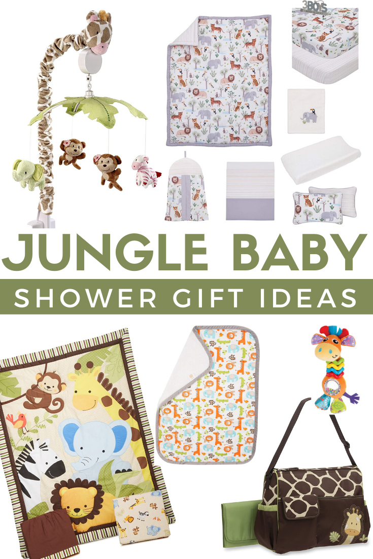 must have jungle themed gifts for a safari themed baby shower