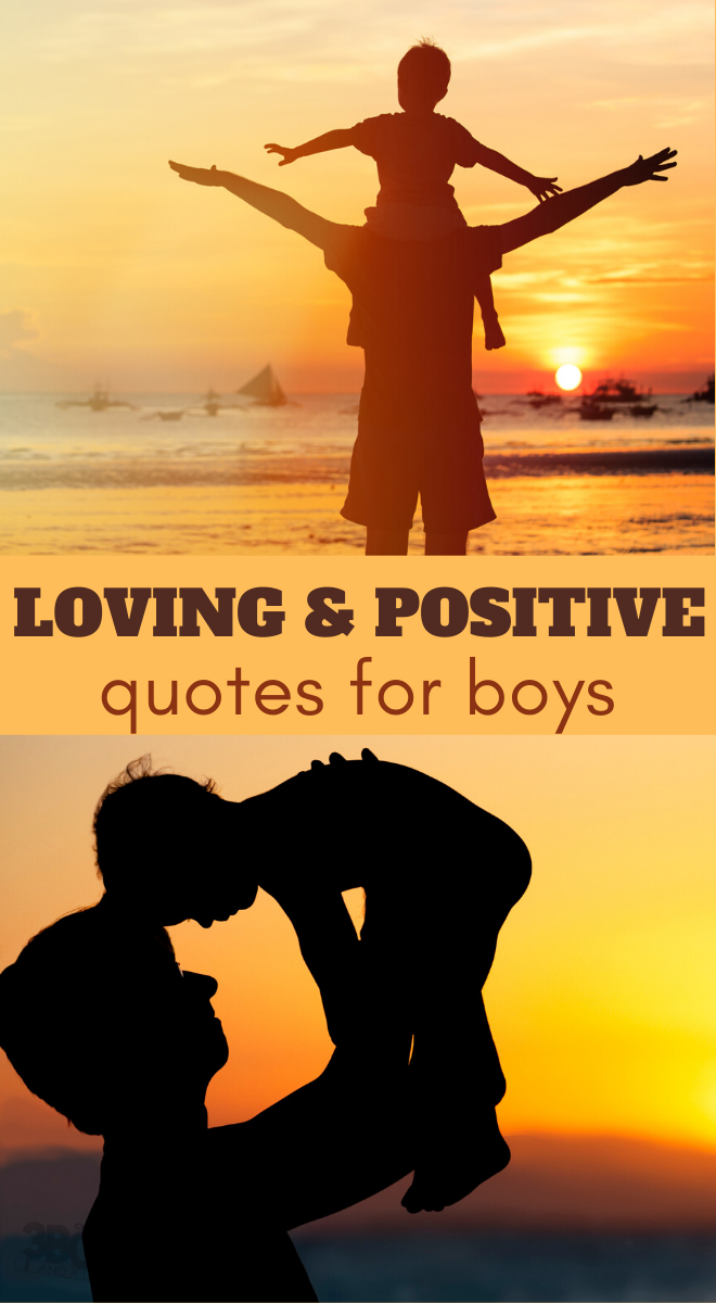 positive quotes for boys