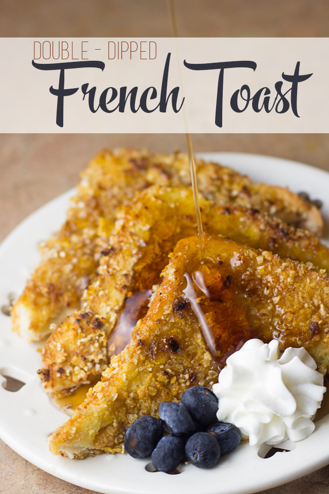 Double-Dipped French Toast (IHOP Copycat!)