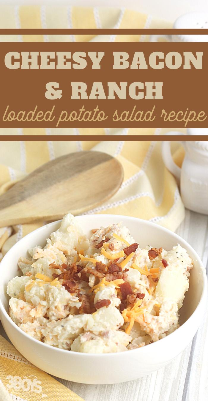bacon ranch cheesy potato salad recipe
