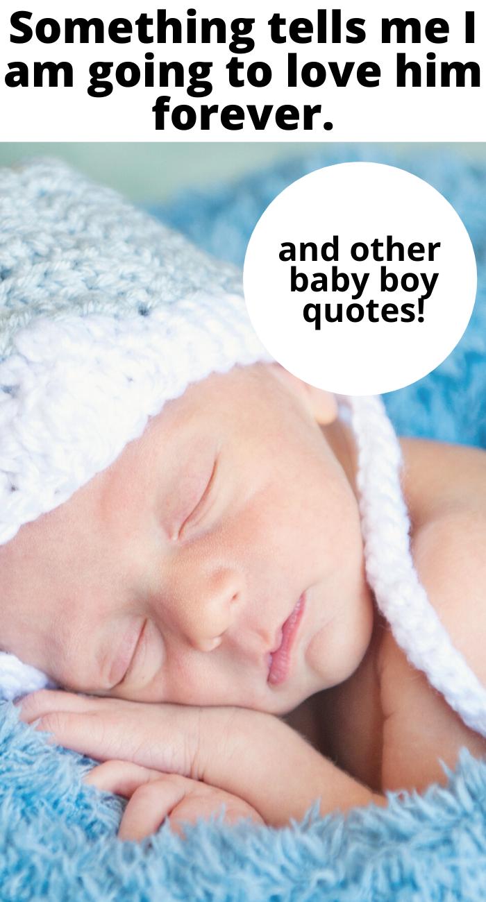cute baby boy quotes