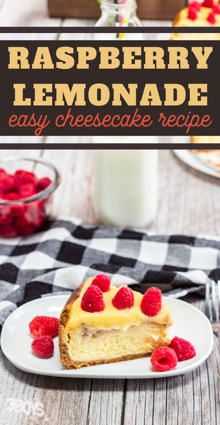 sweet and tangy cheesecake dessert recipe with lemonade curd