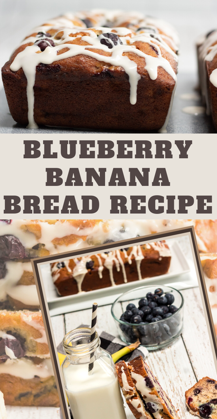 Blueberry Banana Bread Recipe