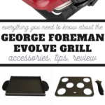 george foreman evolve grill system