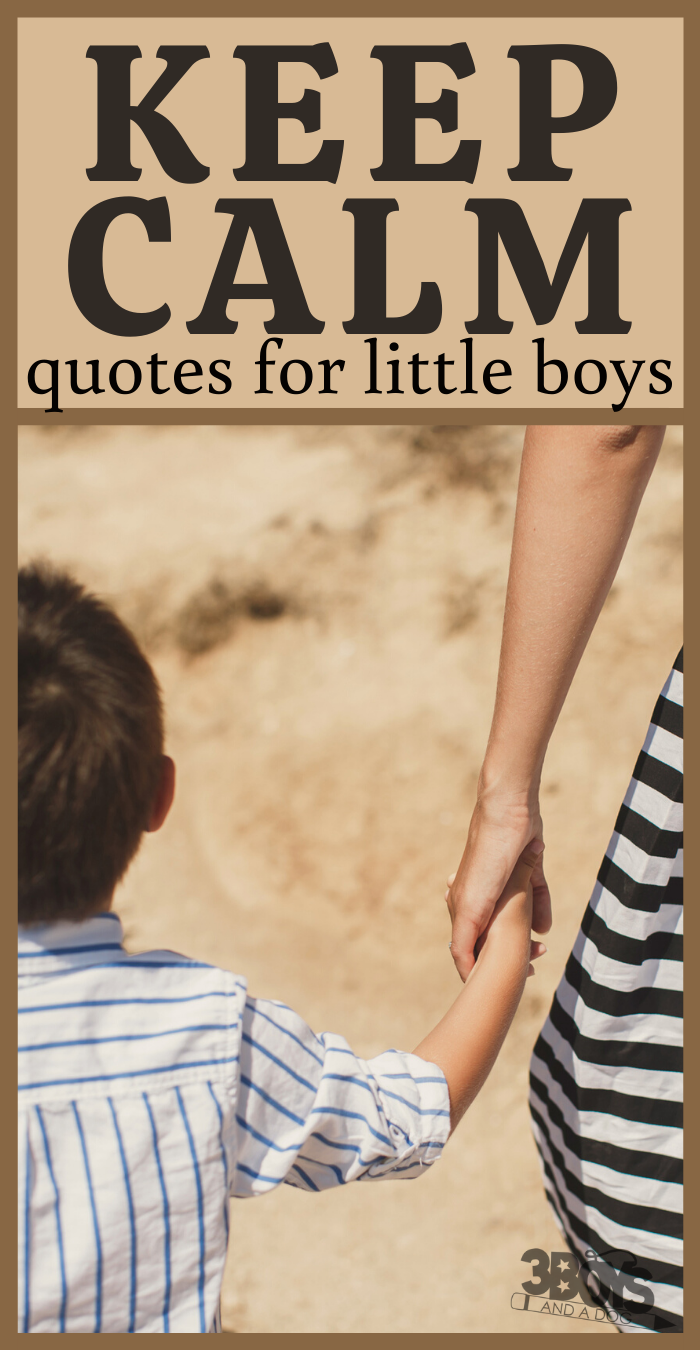 keep calm positive quotes for boys