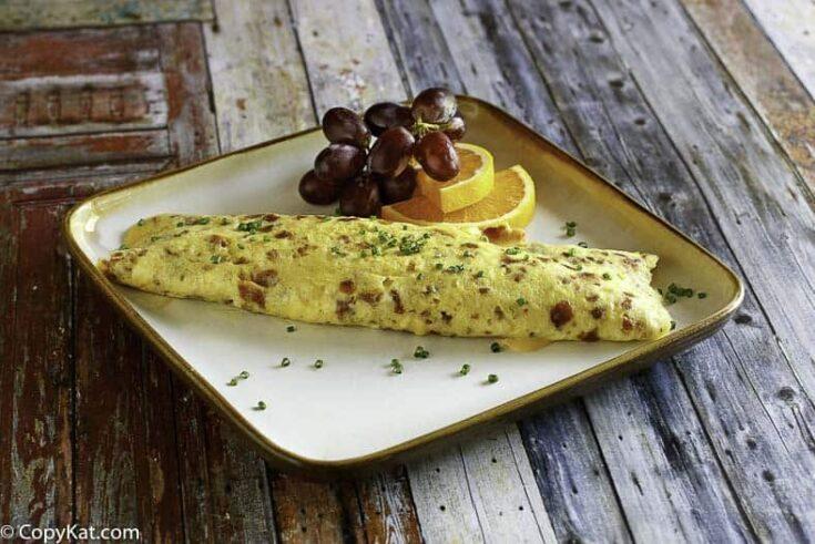 IHOP Bacon Temptation Omelette - Keto Friendly Breakfast