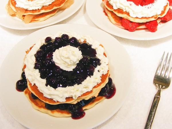 IHOP Shortcake Pancakes