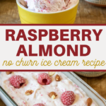 raspberries and almonds make a delicious summertime dessert