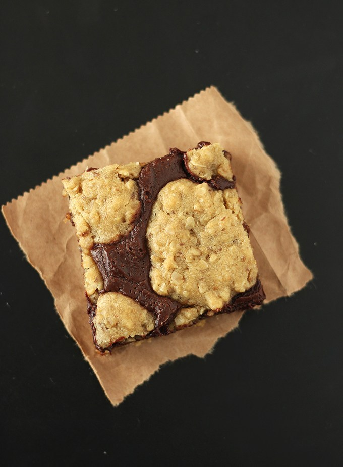 Vegan Oat Fudge Bars (Starbucks Copycat)