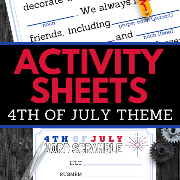 printable patriotic activity worksheets