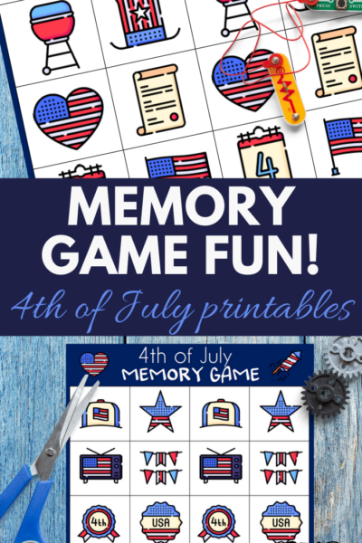easy printable teaches memorization to preschool aged children