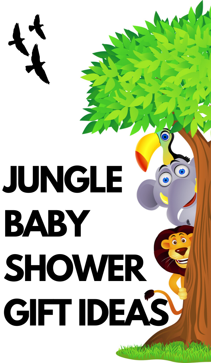 Jungle or Safari must have gifts for a baby shower