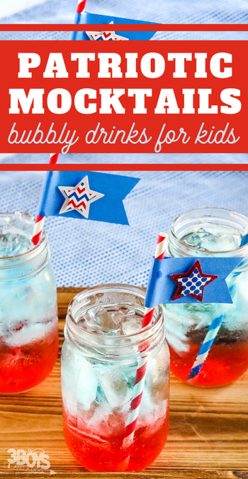 red white and blue drinks for patriotic entertaining