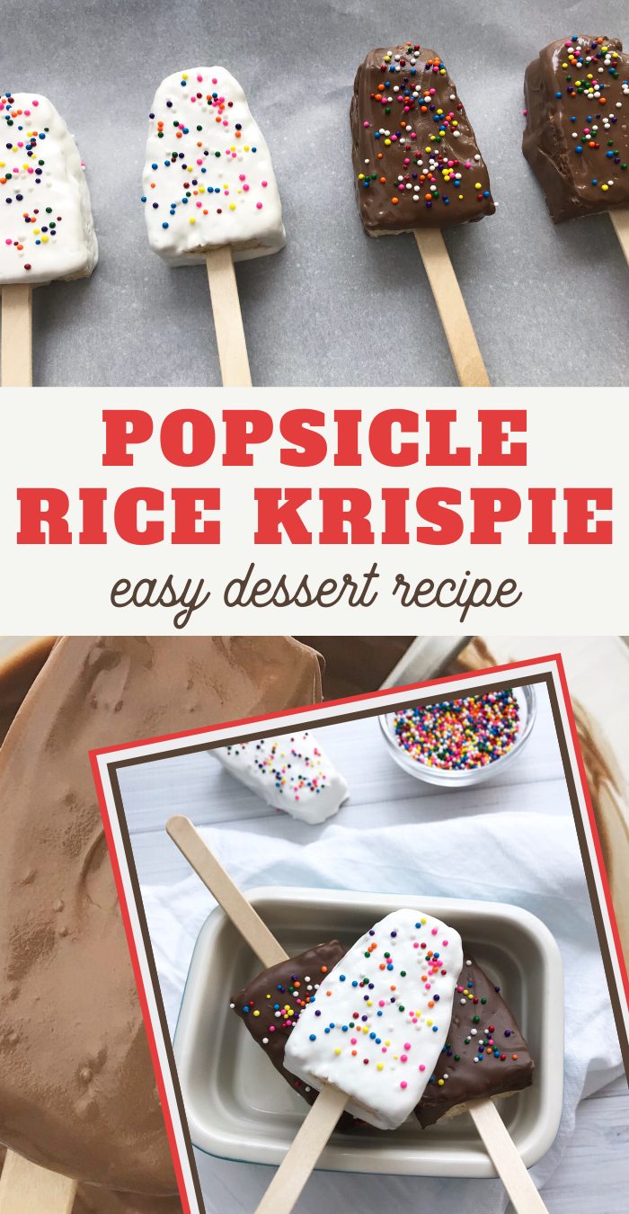 delicious rice krispie treat popsicle recipe for your next summer party