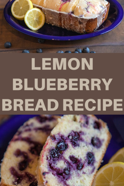 this lemon blueberry bread recipe is perfect for your next brunch