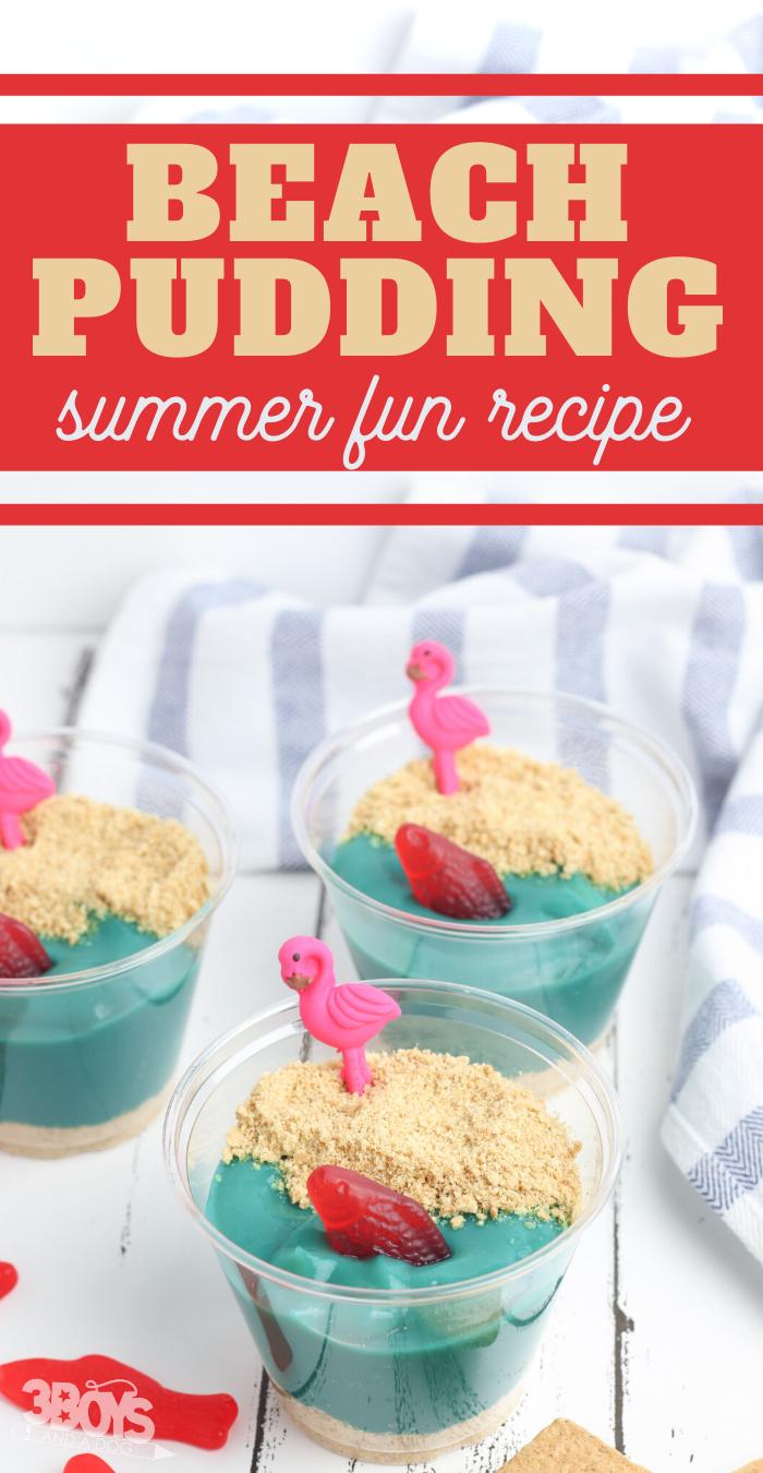 easy beach pudding recipe