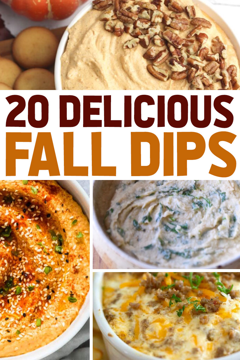 the best ever fall dip recipes