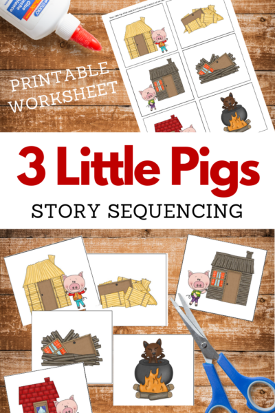 3 little pigs printables
