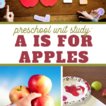 preschool unit study a is for apples