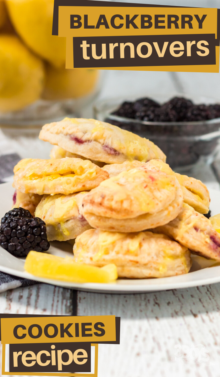 blackberry turnover cookies are perfect for dessert OR a sweet breakfast