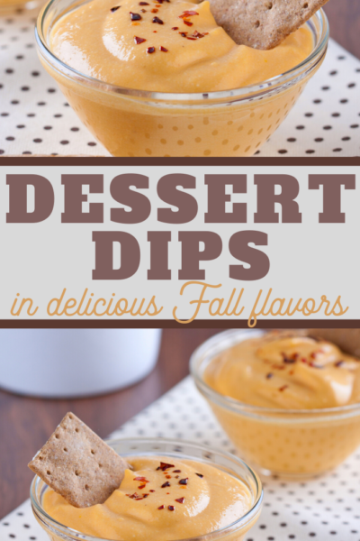 fall delicious dessert dips