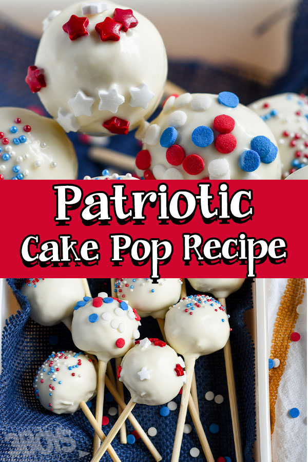 patriotic cake pop recipe