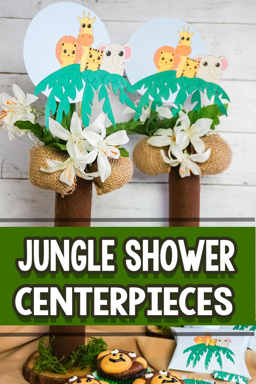 Jungle Theme Baby Shower Decorations Diy  from 3boysandadog.com