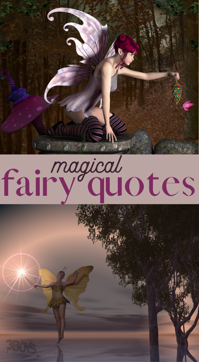magical quotes about faeries
