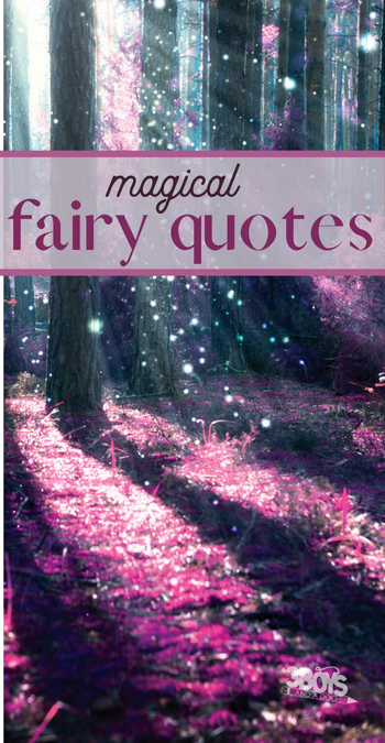 magical quotes about fairies