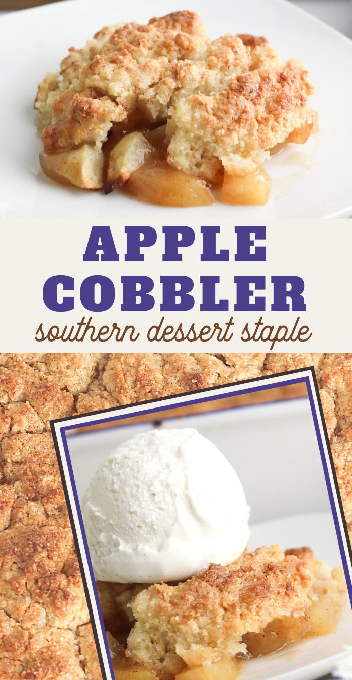Insanely Easy Apple Cobbler Recipe