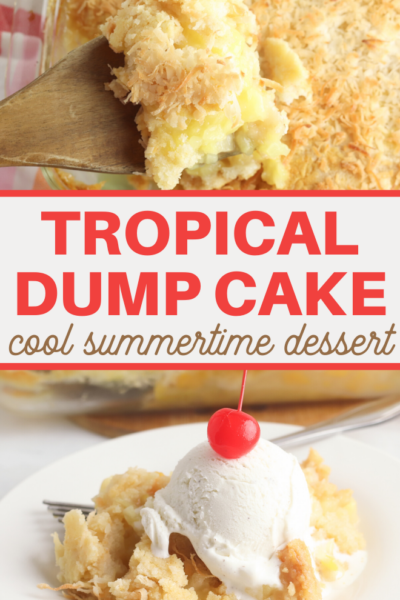 tropical dump cake dessert recipe