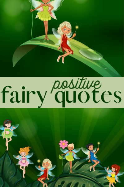 positive quotes about faeries