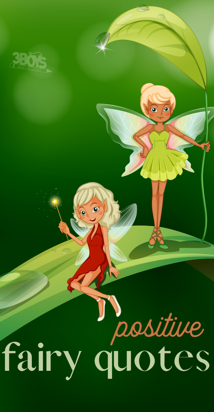 positive quotes about fairies